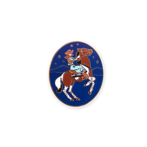 Cowgirl Enamel Pin
