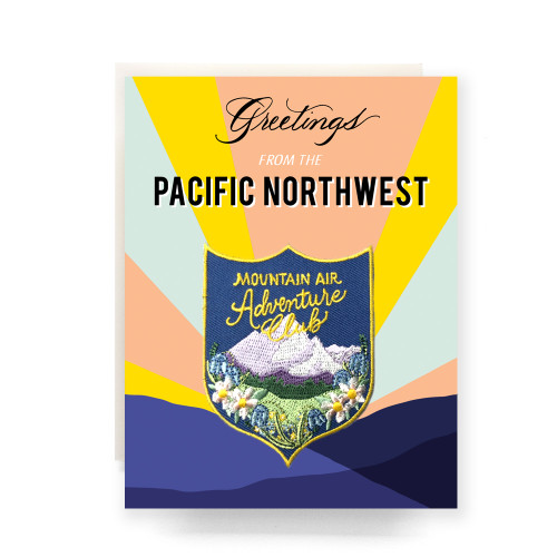Patch Greeting Card | Pacific Northwest