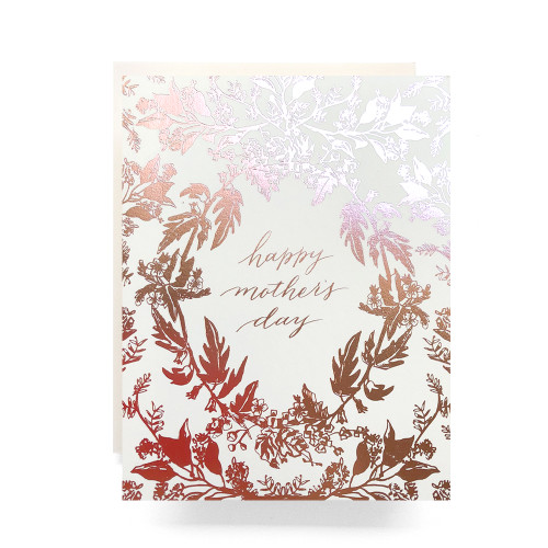 Rosegold Mother's Day Greeting Card