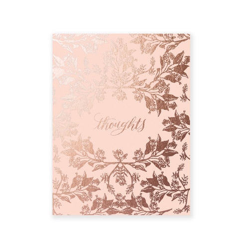 Blush Thoughts, A2 Pocket Jotter