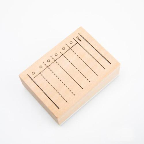 Checklist Journal Stamp