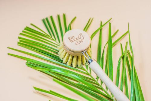 Long Handle Wooden Dish Brush