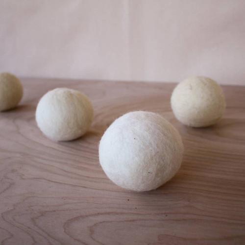 Natural Wool Dryer Balls- Set of 3