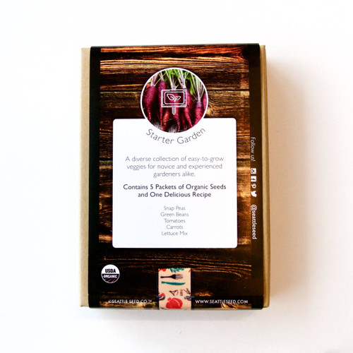 Organic Seed Collection - Starter Garden