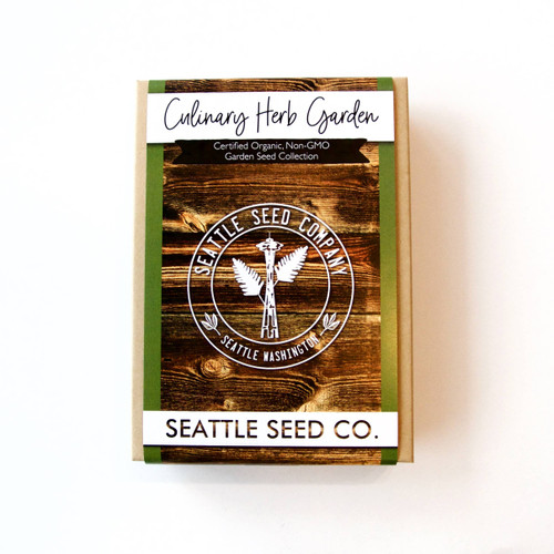 Organic Seed Collection - Culinary Herb Garden
