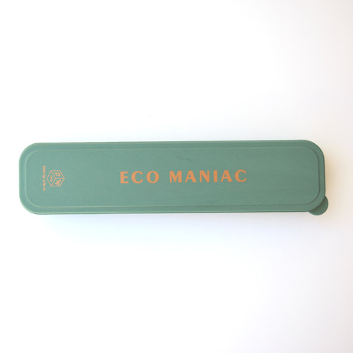 "Portable Flatware set- ""Eco Maniac"" Forest Green"