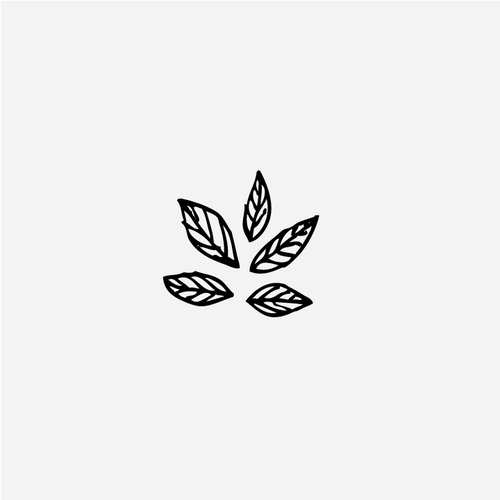 Small Leaves Pattern Stamp