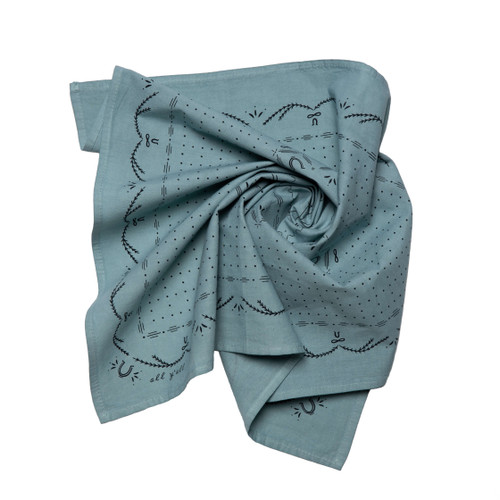"""""""all y'all"""" Hand Dyed Bandana"""