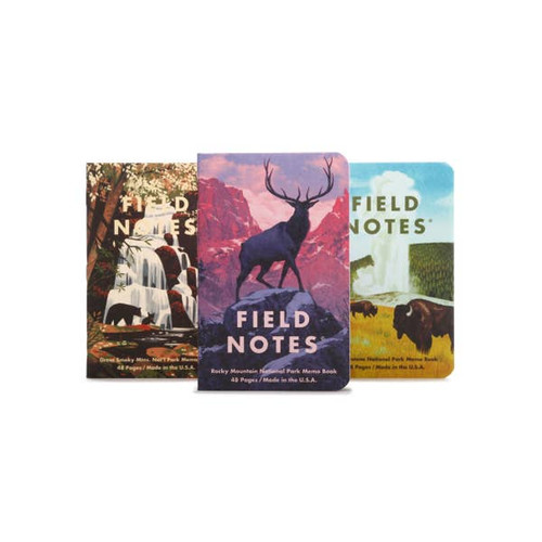 National Parks Memo Books- Series C