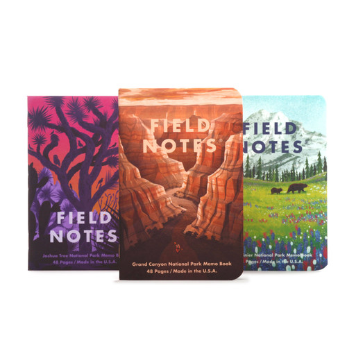 National Parks Memo Books - Series B