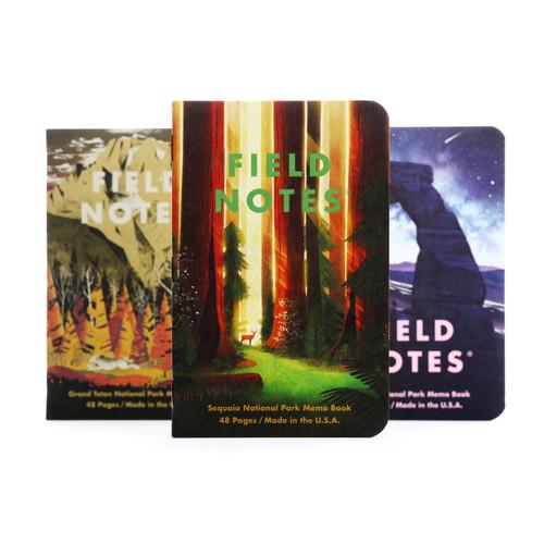 National Parks Memo Books- Series D