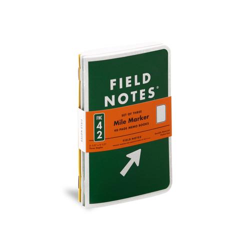 Mile Marker Memo Book- Set of 3
