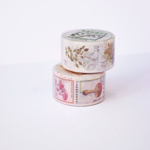 Stamp Collection Washi- set of 2