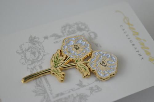 Anemone Soft Enamel Pin