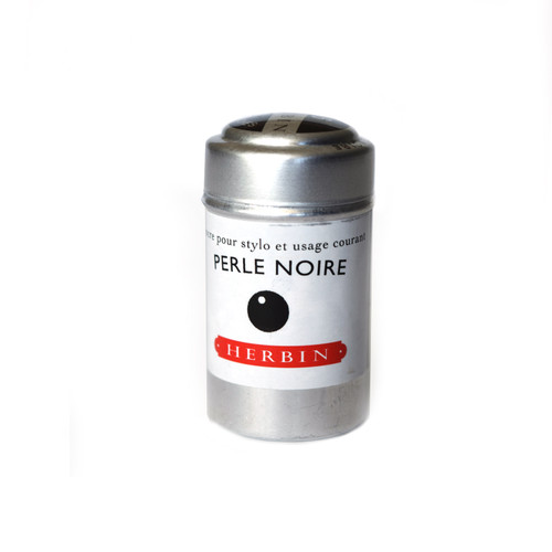 Herbin Ink Cartridges Perle Noire
