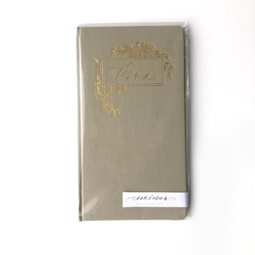 Vows Notebook- Green