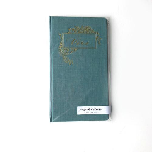 Vows Notebook- Blue
