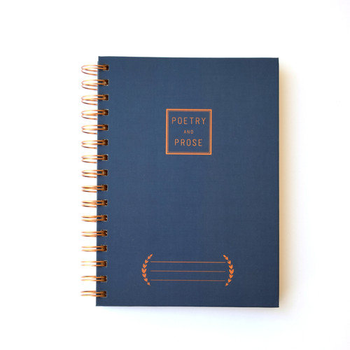 Poetry & Prose Notebook
