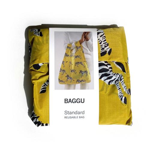 Yellow Zebra Baggu