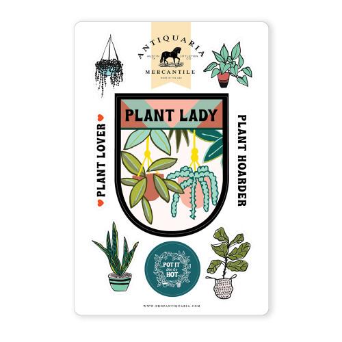 Plant Lady Sticker Sheet
