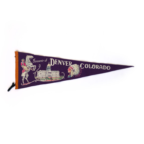 Denver Vintage Pennant