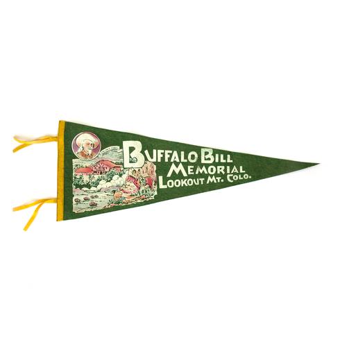 Buffalo Bill Vintage Pennant