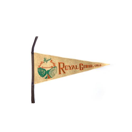 Ryola Gorge Vintage Pennant