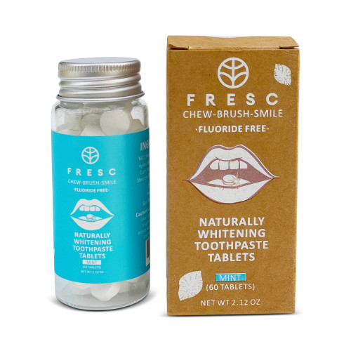 Toothpaste Tablets – 60-Piece Naturally Whitening