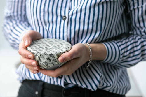 Beeswax Wrap Single Small- Monochrome