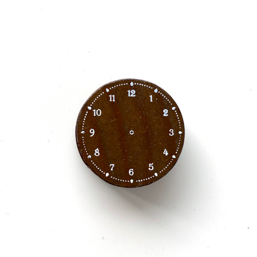 Analog Clock Stamp