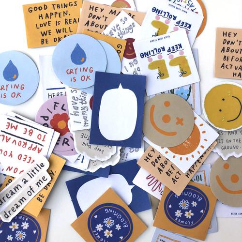 Groceries & Workshop Stickers Pack | Set of 60