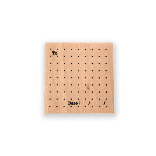 Dot Grid Journal Stamp