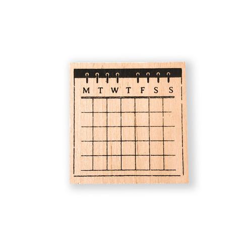 Month Calendar Stamp
