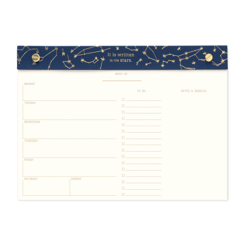 Constellations Desk Calendar