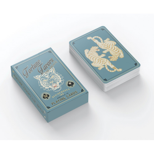 Fortune Favors the Brave Playing Cards