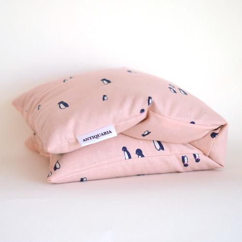Little Penguins Flax Heat Bag