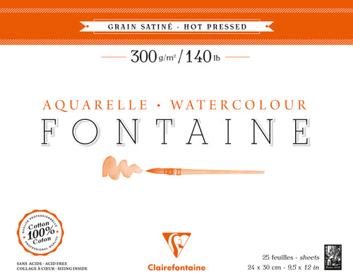 Fontaine Watercolor paper
