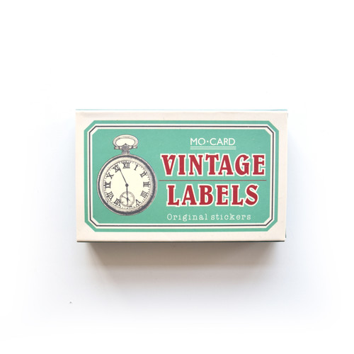 Vintage Label Stickers: Back in Time