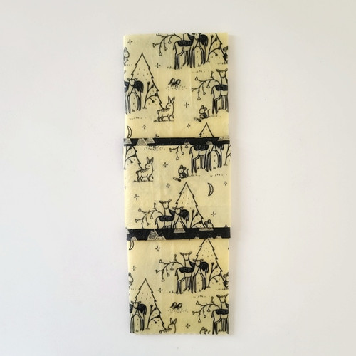 Beeswax Food Wraps Fawns