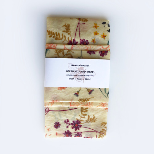Beeswax Wraps Wildflower