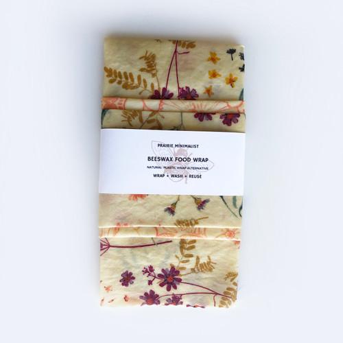 Beeswax Wraps Wildflower