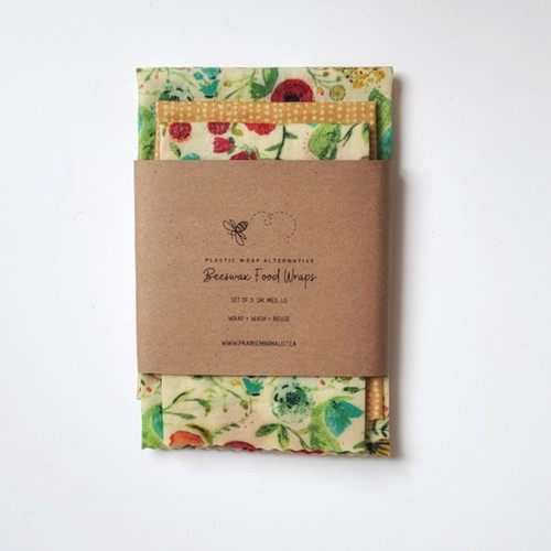 Spring Florals Beeswax Wraps