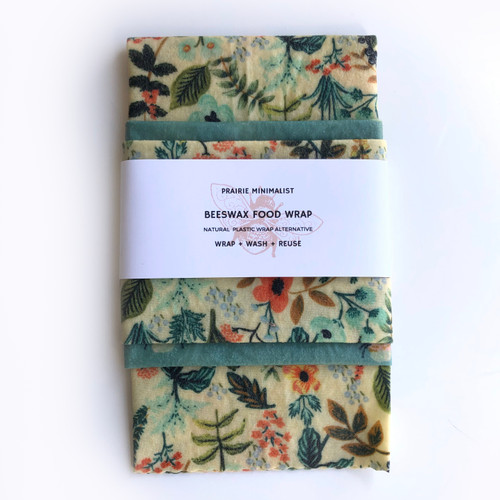 Forest Florals Beeswax Wraps