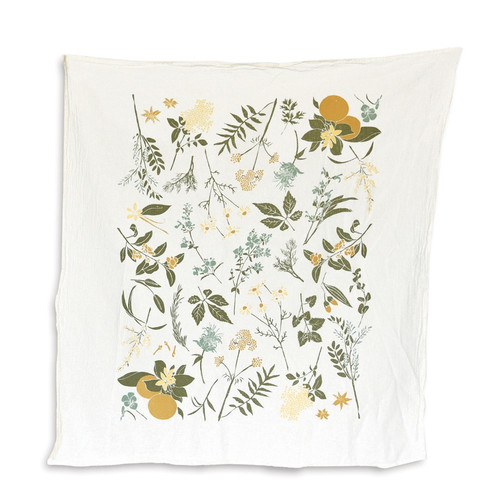 Herbal Tea Garden Towel