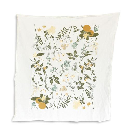 Herbal Tea Garden Towel