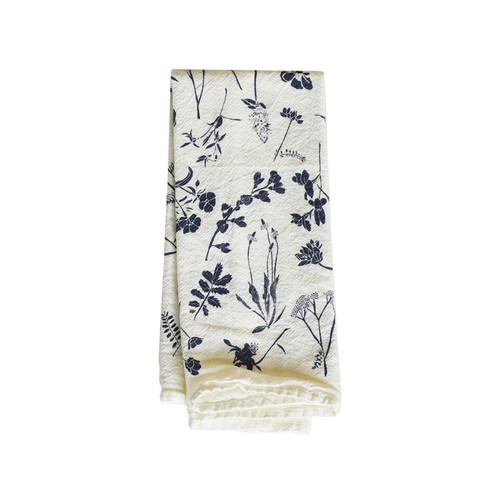 Navy Wildflowers Napkins / Set of 4