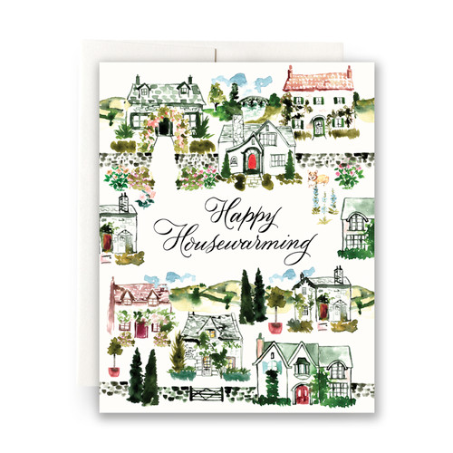 Cottagecore Housewarming Greeting Card