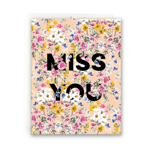 Amelia Miss You Greeting Card