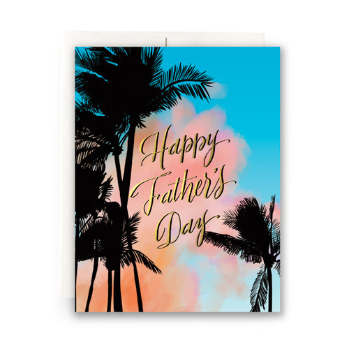 Palms Father's Day Greeting Card
