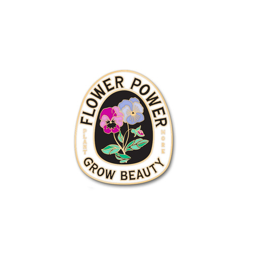 Flower Power Enamel Pin